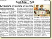 Let us sew, let us sew, let us sew