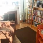 A cozy nook at RiverRead Books