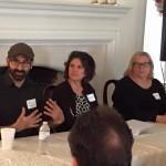 Eric Smith, Jennifer Kasius, and Clare Pelino
